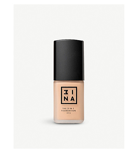 3INA 3-in-1 foundation 30ml (201
