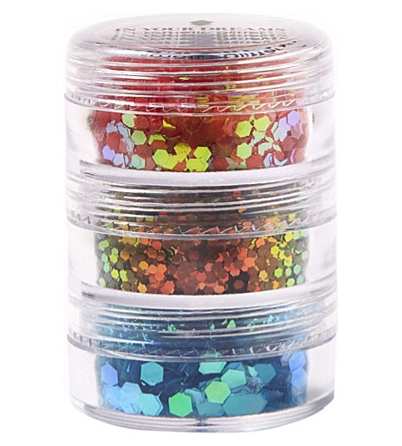 IN YOUR DREAMS Tropical Sunset Stack Glitter