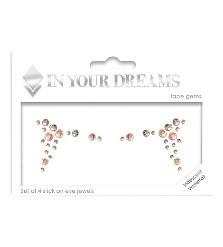 IN YOUR DREAMS Iridescent Waterfall Face Jewel Set