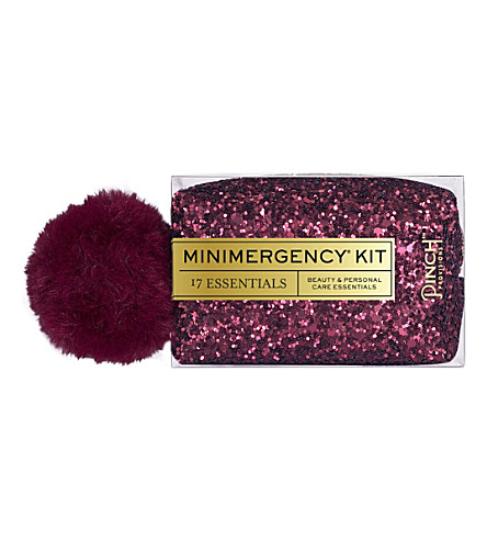 PINCH PROVISIONS Pom Pom Minimergency Kit (Oxblood