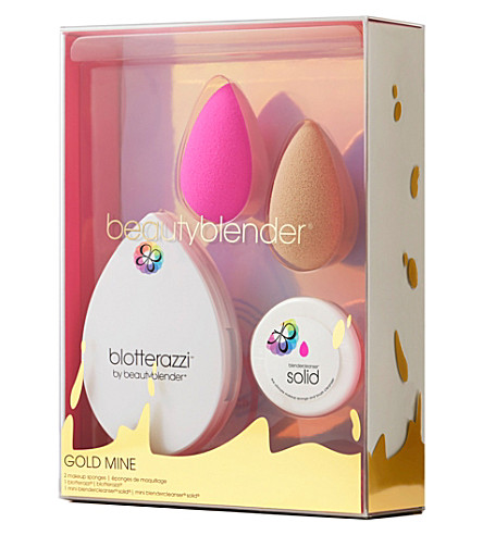 BEAUTYBLENDER Gold Mine beautyblender set