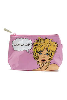 CATSEYE Comic woman wash bag