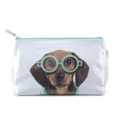 CATSEYE Glasses dog wash bag