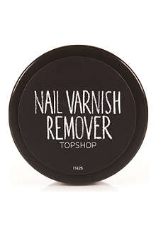 TOPSHOP Nail polish remover wipes