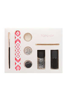 TOPSHOP Nail Art set - Holographic