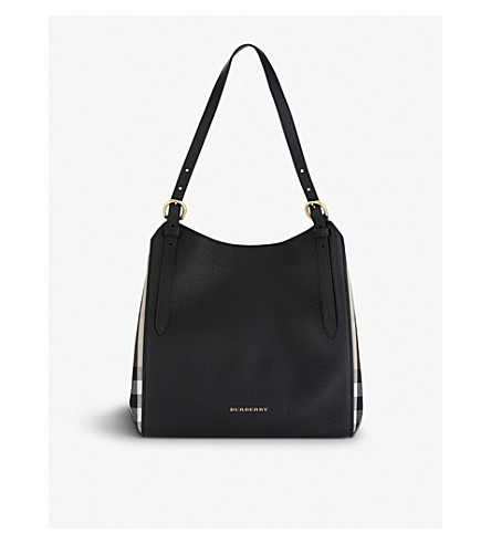 BURBERRY Canterbury leather tote (Black