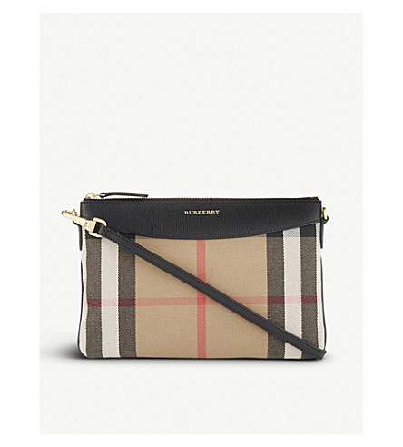 BURBERRY Peyton cross-body bag (Black