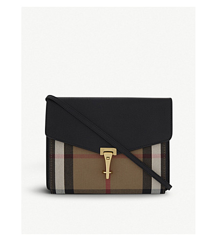 BURBERRY Macken cross-body bag (Black