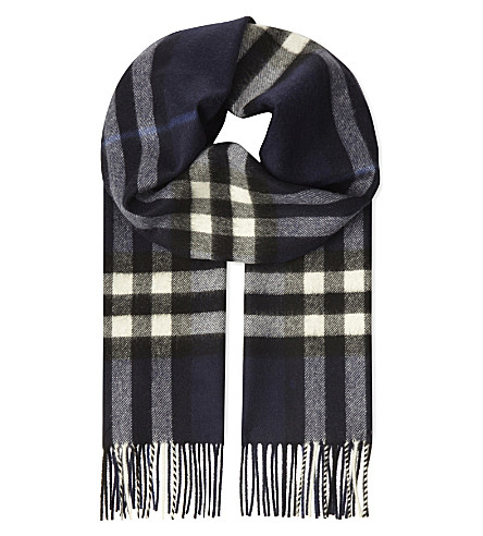 BURBERRY Burb scf giant check cash (Indigo+blue