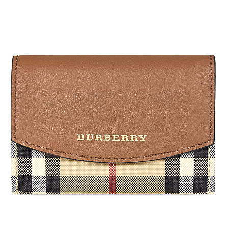 BURBERRY Chesham leather wallet (Tan