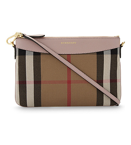 BURBERRY Peyton cross-body bag (Pale+orchid