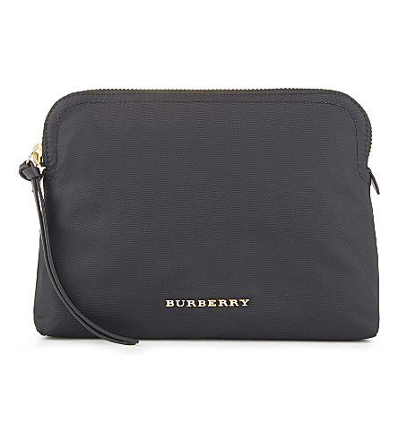 BURBERRY Zip pouch (Black