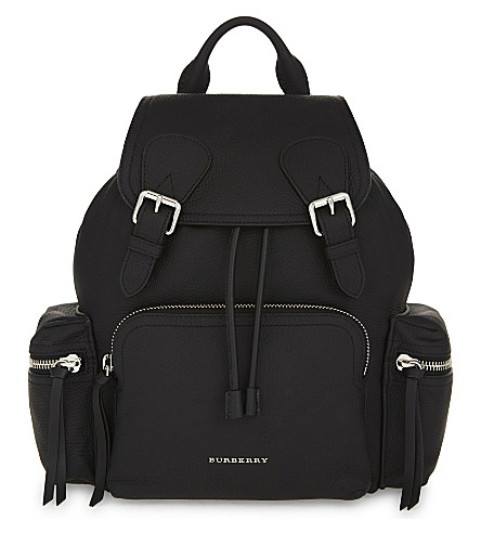 BURBERRY Leather rucksack (Black