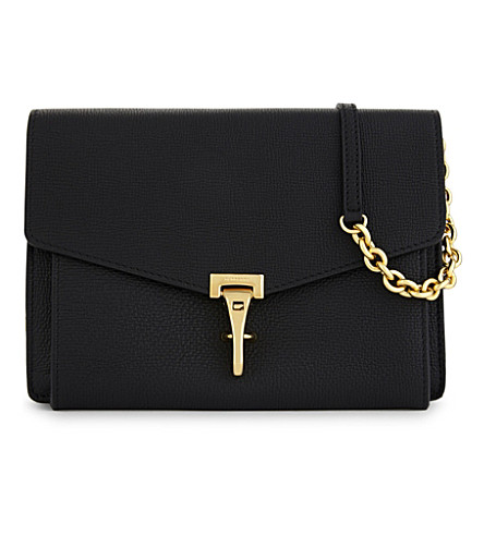 BURBERRY Leather crossbody bag (Black