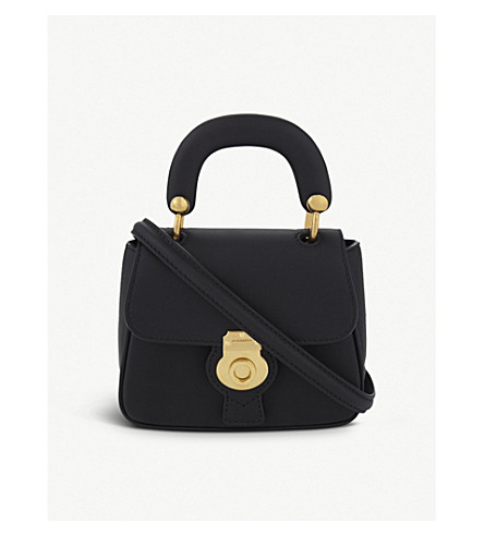 BURBERRY Mini DK88 cross-body bag (Black