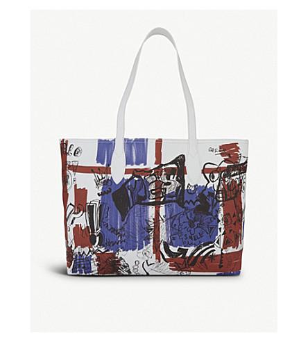 BURBERRY Medium reversible doodle tote bag (Multi