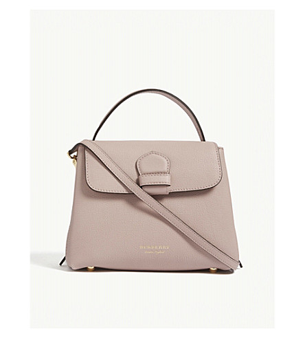 BURBERRY Camberley small leather shoulder bag (Pale+orchid