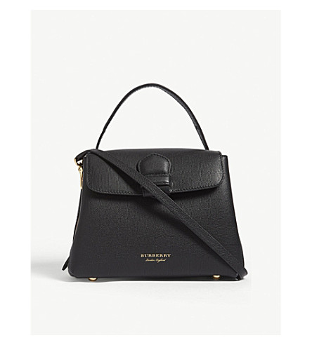 BURBERRY Camberley small leather shoulder bag (Black