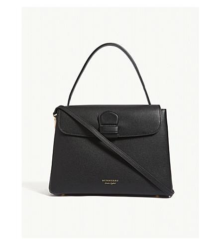 BURBERRY Camberley medium leather shoulder bag (Black