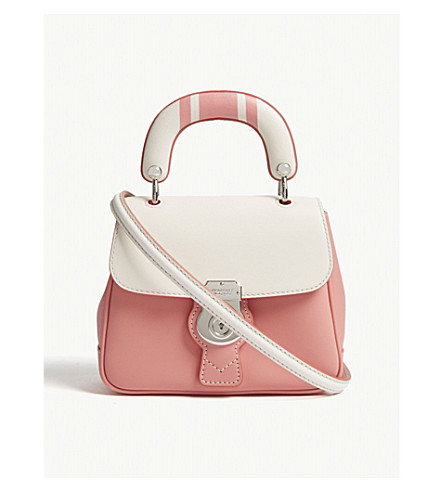 BURBERRY DK88 small leather shoulder bag (Sugar+pink
