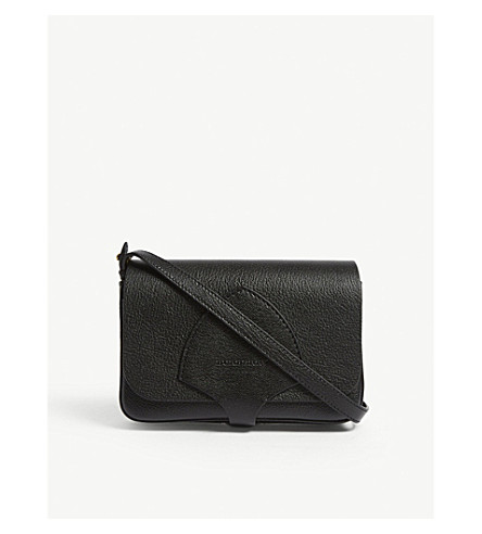 574853f3263a ... BURBERRY Hampshire grained leather wallet-on-chain (Black. PreviousNext