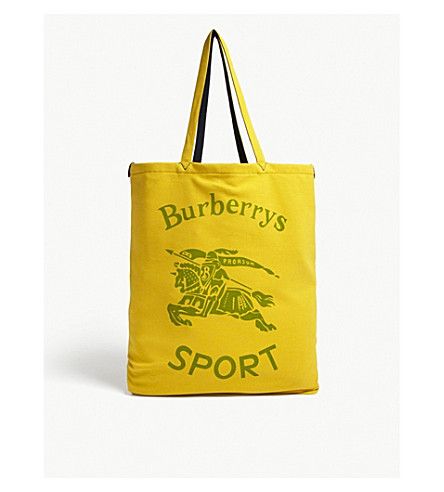 b3bc4b867cb9 BURBERRY - Sport logo jersey shopper bag