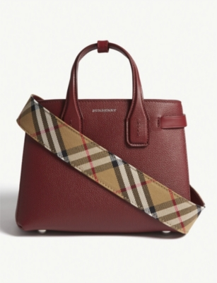 Baby Banner leather tote(7453722)