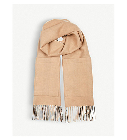 BURBERRY Helene reversible cape (Camel