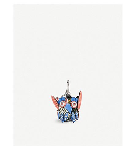 BURBERRY Mavis the Owl wool and silk-blend charm (Multi