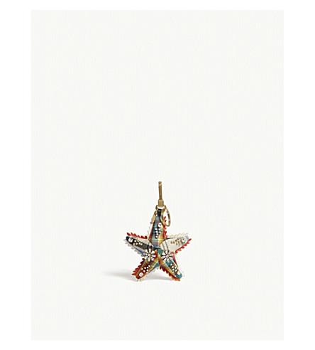 BURBERRY Starfish bag charm (Multi