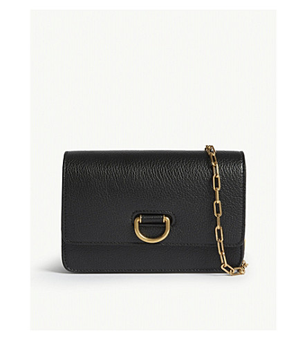 1de622830f3f BURBERRY - Mini grained leather D-ring shoulder bag