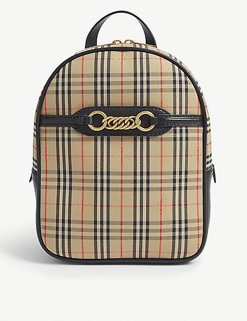 bd5438833d96 BURBERRY 1983 check Link backpack. Quick view Wish list