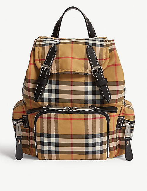 6f07226f00aa BURBERRY Vintage check small rucksack. Quick view Wish list