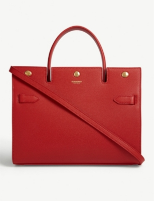Title small leather tote bag(7960337)