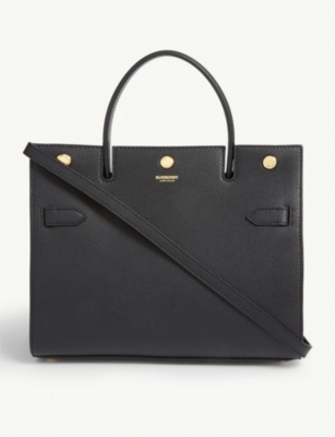 Leather tote bag(7960367)