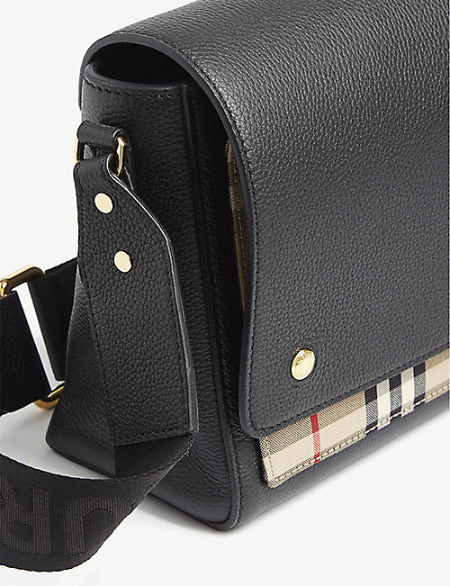 BURBERRY Hackberry leather cross-body bag