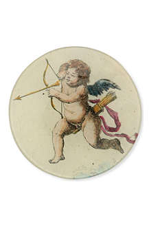 JOHN DERIAN Cherub with Arrow plate