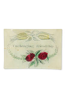 JOHN DERIAN Unchanging Friendship mini tray