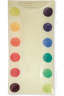 JOHN DERIAN Intervals of Sevenths Colour Dots pencil tray