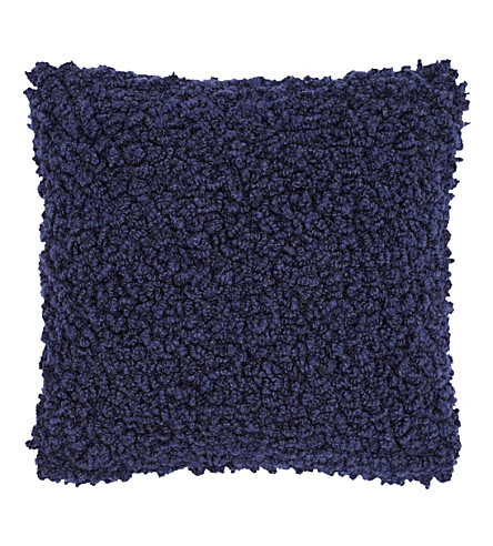 TOM DIXON Boucle wool cushion 45cm