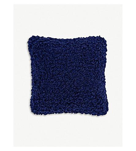 TOM DIXON Boucle wool cushion 45cm x 45cm