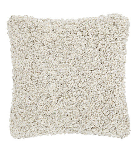 TOM DIXON Boucle wool cushion 45cm