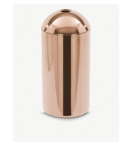 TOM DIXON Brew stainless steel coffee caddy