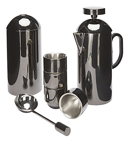 TOM DIXON Brew Cafetiere gift set