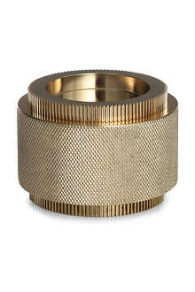 TOM DIXON Brass large cog container