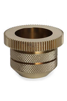 TOM DIXON Cog tea light holder cylinder