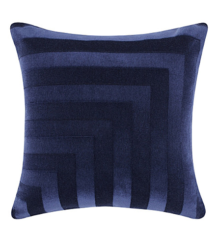 TOM DIXON Deco mohair velvet cushion 60cm