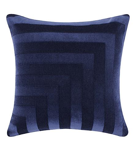 TOM DIXON Deco mohair velvet cushion 60cm