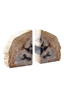 TOM DIXON Pair of Fossil bookends