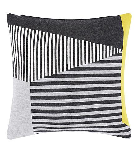 TOM DIXON Line wool cushion 45cm
